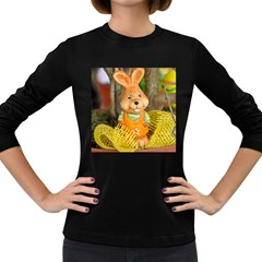 Easter Hare Easter Bunny Women s Long Sleeve Dark T-Shirts