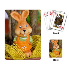 Easter Hare Easter Bunny Playing Card