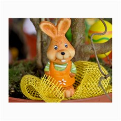 Easter Hare Easter Bunny Small Glasses Cloth (2-Side)