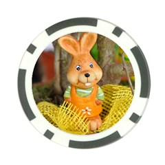 Easter Hare Easter Bunny Poker Chip Card Guard (10 pack)