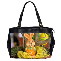 Easter Hare Easter Bunny Office Handbags (2 Sides)