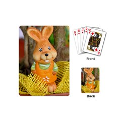 Easter Hare Easter Bunny Playing Cards (Mini)