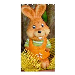 Easter Hare Easter Bunny Shower Curtain 36  x 72  (Stall)