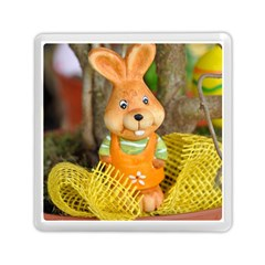 Easter Hare Easter Bunny Memory Card Reader (Square)