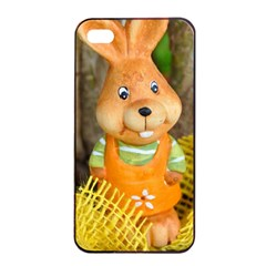 Easter Hare Easter Bunny Apple iPhone 4/4s Seamless Case (Black)