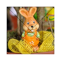 Easter Hare Easter Bunny Acrylic Tangram Puzzle (6  x 6 )