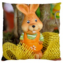 Easter Hare Easter Bunny Large Cushion Case (two Sides)
