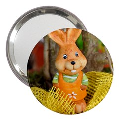 Easter Hare Easter Bunny 3  Handbag Mirrors