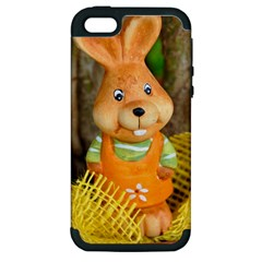 Easter Hare Easter Bunny Apple iPhone 5 Hardshell Case (PC+Silicone)