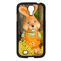 Easter Hare Easter Bunny Samsung Galaxy S4 I9500/ I9505 Case (Black)