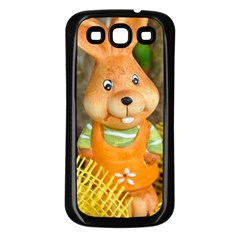 Easter Hare Easter Bunny Samsung Galaxy S3 Back Case (Black)