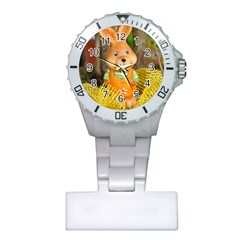 Easter Hare Easter Bunny Plastic Nurses Watch