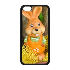 Easter Hare Easter Bunny Apple iPhone 5C Seamless Case (Black)
