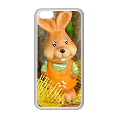 Easter Hare Easter Bunny Apple iPhone 5C Seamless Case (White)
