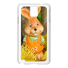 Easter Hare Easter Bunny Samsung Galaxy Note 3 N9005 Case (White)