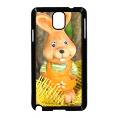 Easter Hare Easter Bunny Samsung Galaxy Note 3 Neo Hardshell Case (Black)
