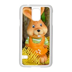 Easter Hare Easter Bunny Samsung Galaxy S5 Case (White)