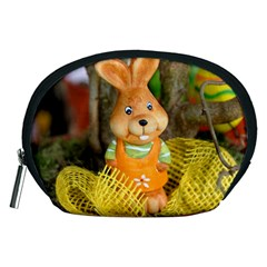 Easter Hare Easter Bunny Accessory Pouches (Medium)