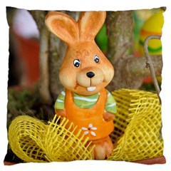 Easter Hare Easter Bunny Standard Flano Cushion Case (Two Sides)