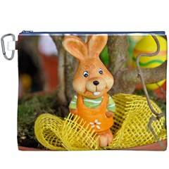 Easter Hare Easter Bunny Canvas Cosmetic Bag (XXXL)