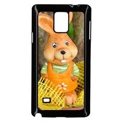 Easter Hare Easter Bunny Samsung Galaxy Note 4 Case (Black)