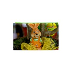 Easter Hare Easter Bunny Cosmetic Bag (XS)