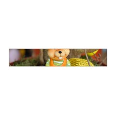 Easter Hare Easter Bunny Flano Scarf (Mini)