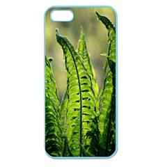Fern Ferns Green Nature Foliage Apple Seamless iPhone 5 Case (Color)