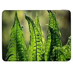 Fern Ferns Green Nature Foliage Samsung Galaxy Tab 7  P1000 Flip Case