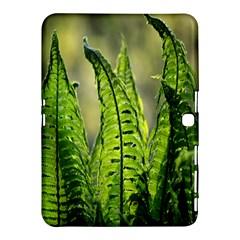 Fern Ferns Green Nature Foliage Samsung Galaxy Tab 4 (10.1 ) Hardshell Case