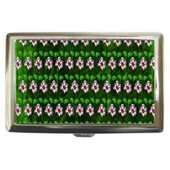 Floral Pattern Cigarette Money Cases