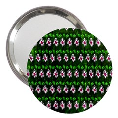 Floral Pattern 3  Handbag Mirrors
