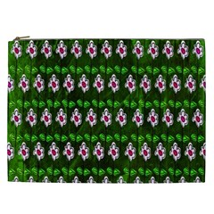 Floral Pattern Cosmetic Bag (xxl)