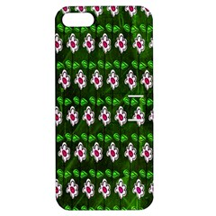 Floral Pattern Apple Iphone 5 Hardshell Case With Stand