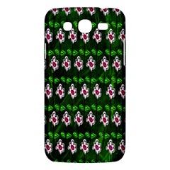 Floral Pattern Samsung Galaxy Mega 5.8 I9152 Hardshell Case