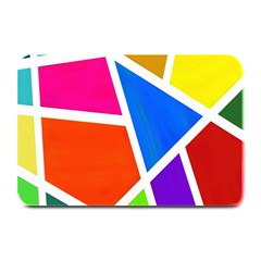 Geometric Blocks Plate Mats