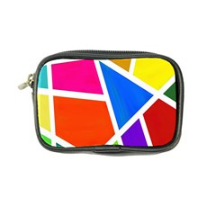 Geometric Blocks Coin Purse