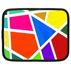Geometric Blocks Netbook Case (XL)