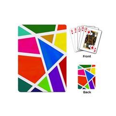 Geometric Blocks Playing Cards (Mini)