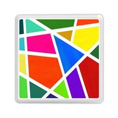 Geometric Blocks Memory Card Reader (Square)