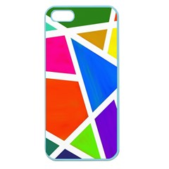 Geometric Blocks Apple Seamless iPhone 5 Case (Color)