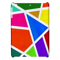 Geometric Blocks Apple iPad Mini Hardshell Case