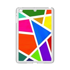 Geometric Blocks iPad Mini 2 Enamel Coated Cases