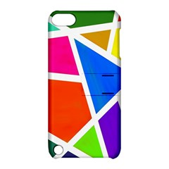 Geometric Blocks Apple iPod Touch 5 Hardshell Case with Stand