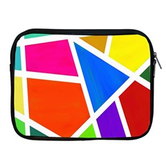 Geometric Blocks Apple Ipad 2/3/4 Zipper Cases