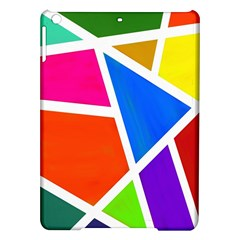 Geometric Blocks iPad Air Hardshell Cases