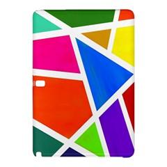 Geometric Blocks Samsung Galaxy Tab Pro 10 1 Hardshell Case