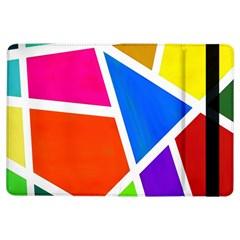 Geometric Blocks iPad Air Flip
