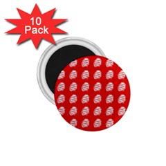 Happy Chinese New Year Pattern 1.75  Magnets (10 pack)