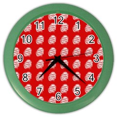 Happy Chinese New Year Pattern Color Wall Clocks